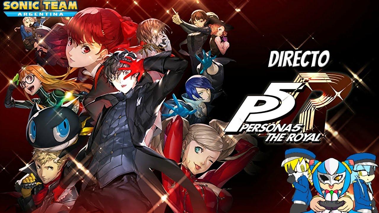 Directo - Persona 5 Royal #1