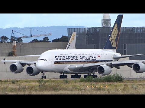 Big Plane Take Offs Frankfurt Airport B747-8, B787, A330, B767, A380