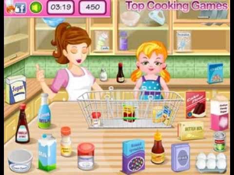 Cooking Game New Year Confetti Cake for Girls - YouTube