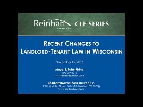 Wisconsin Landlord-Tenant Laws