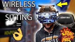 SIT DOWN GAMES ARE SOOO MUCH BETTER, BUT AT A COST   Blast The Past Gameplay (HTC Vive VR)