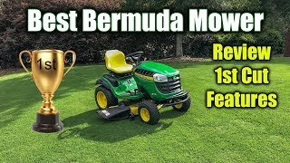 Best Mower for Bermuda Grass - John Deere 100 Series