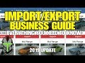 GTA ONLINE IMPORT/EXPORT BUSINESS GUIDE ***2019 UPDATE***