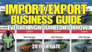 GTA ONLINE IMPORT EXPORT BUSINESS GUIDE 2019 UPDATE