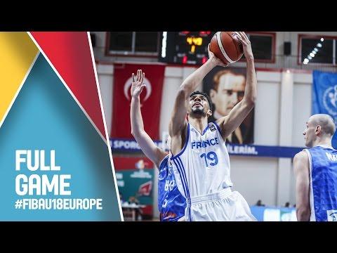 France v Bosnia and Herzegovina - Full Game - Quarter Final - FIBA U18 European Championship 2016