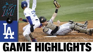Marlins vs. Dodgers Game Highlights (5/16/21) | MLB Highlights