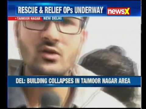 Building collapses in Bhiwandi and Delhi; rescue OPS underway