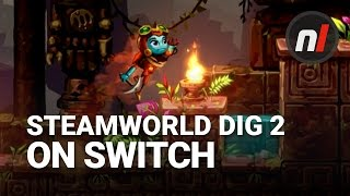SteamWorld Dig 2 on Nintendo Switch Gameplay Footage | EGX Rezzed 2017