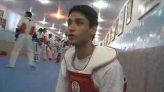 Afghan Tae Kwon Do Champ Aims for Olympic Glory