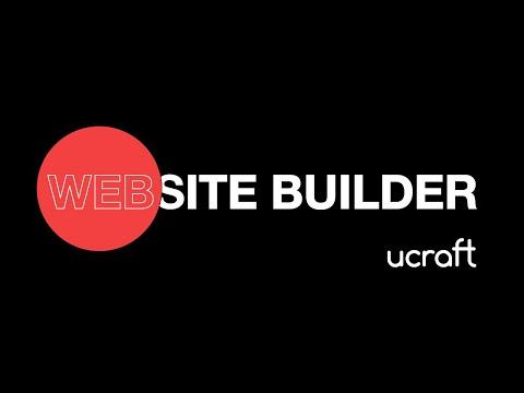 Create Your Own Website | Ucraft Website Builder