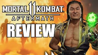 Mortal Kombat 11: Aftermath Review - The Final Verdict (Video Game Video Review)
