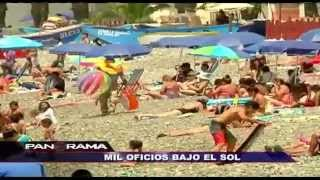 Mil oficios bajo el sol: un día como ambulante en las playas de Lima (1/2)