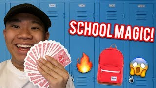 TOP 5 MAGIC TRICKS FOR SCHOOL (REVEALED)
