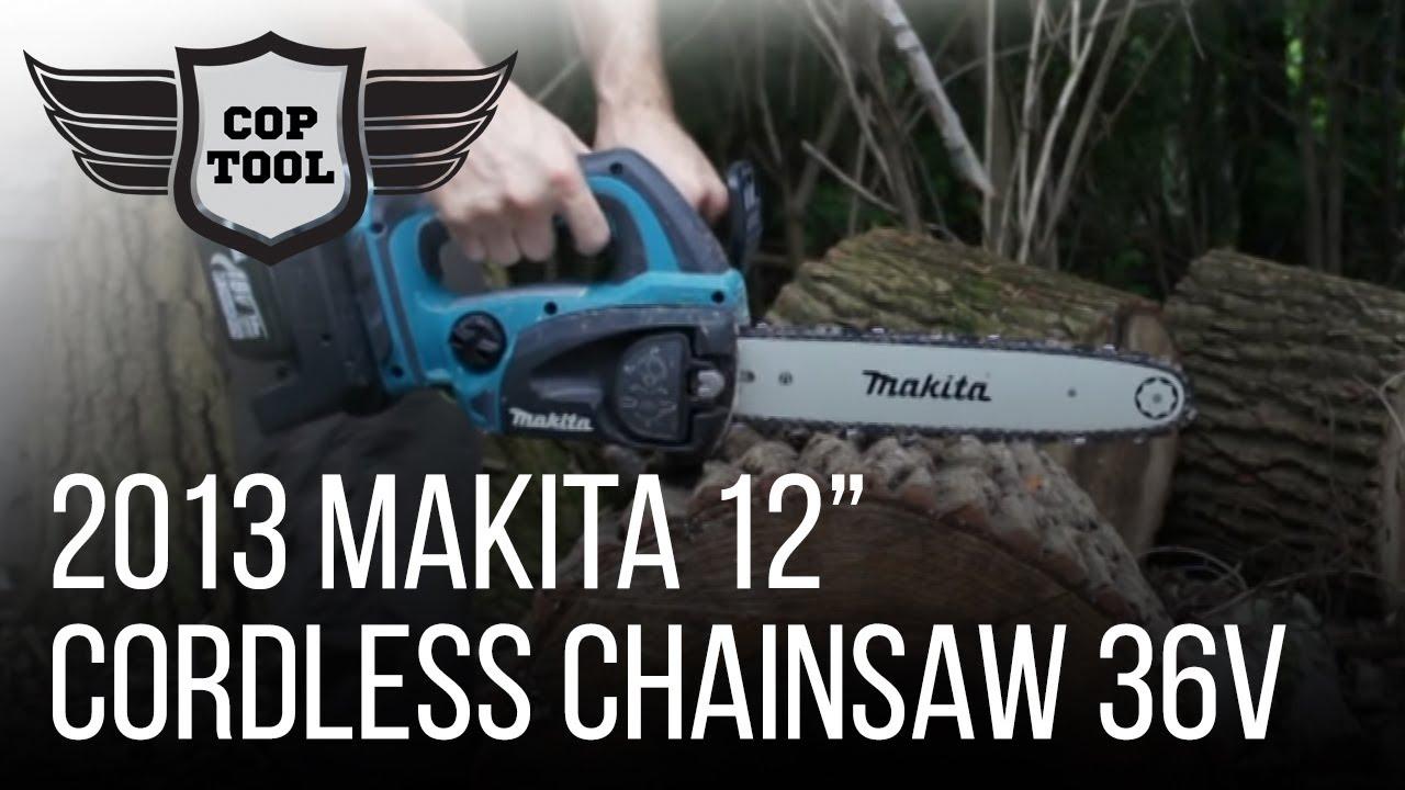 Makita 12 cordless chainsaw 36v 18vx2 hcu02zx2 youtube makita 12 cordless chainsaw 36v 18vx2 hcu02zx2 greentooth Gallery