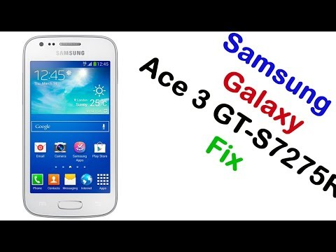 How to Samsung Galaxy Ace 3 GT-S7275R Firmware Update (Fix ROM)