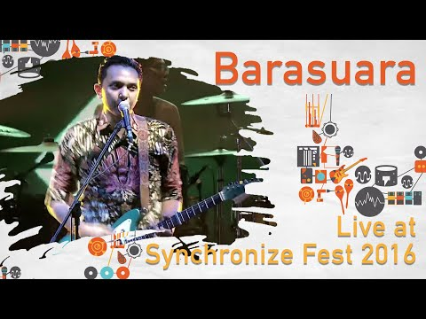 Barasuara live at SynchronizeFest - 30 Oktober 2016