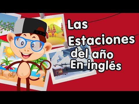 Primavera, verano, otoño e invierno en inglés aprende con canciones infantiles
