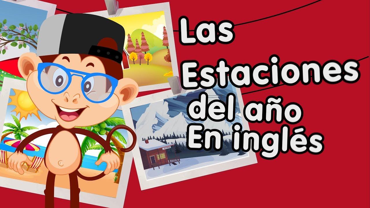 289a4a475343 Primavera, verano, otoño e invierno en inglés aprende con canciones  infantiles