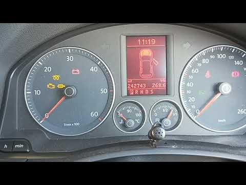 Volkswagen Golf Diesel 2008 DPF filter replacement + cleaning Part2