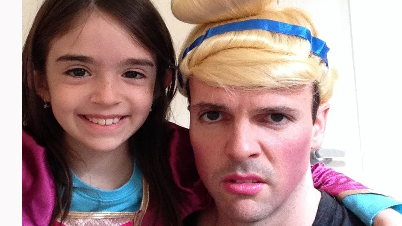 DAD BECOMES A PRINCESS - YouTube