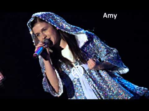 Amy Diamond VS Miley Cyrus - Rockin Around The Christmas Tree
