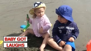 Summer Babies Compilation 2   Funny Baby Videos 2018
