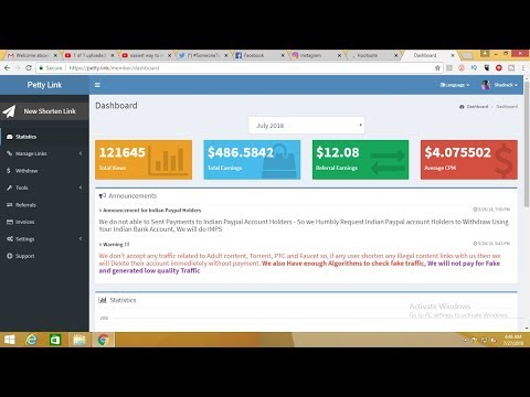 The EASIEST way to earn money online || Best Adfly