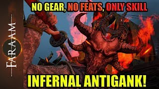 Infernal Antigank - No GEAR, No FEATS, Only SKILL [For Honor]