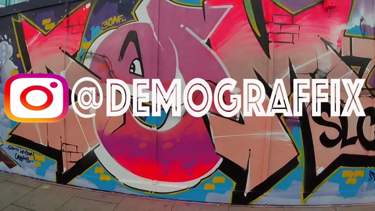 Graffiti London Writers Street Artists Dems Zeus Close Cant