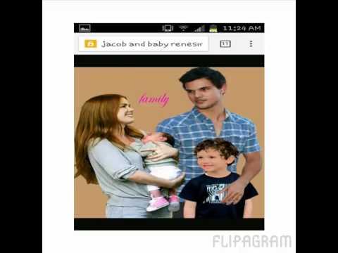 Jacob and renesmee love