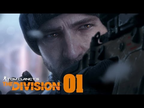 Tom Clancy's The Division German Online Multiplayer KOOP Erste Schießerei #01
