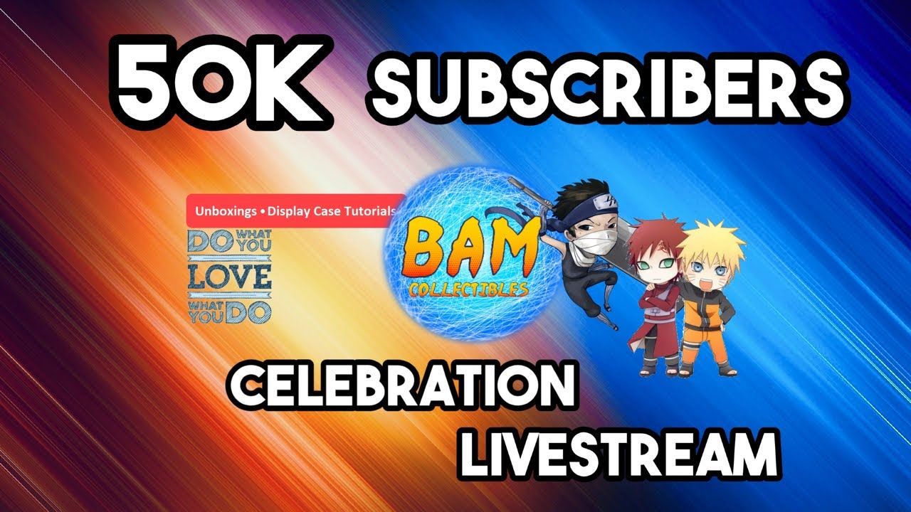 50K Subscriber Celebration Livestream