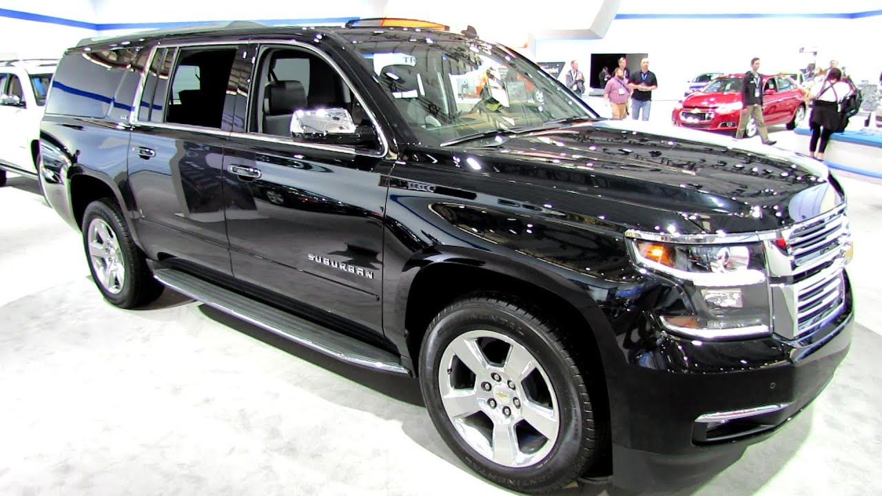 Marvelous 2015 Chevrolet Suburban LTZ   Exterior And Interior Walkaround   2014 New  York Auto Show