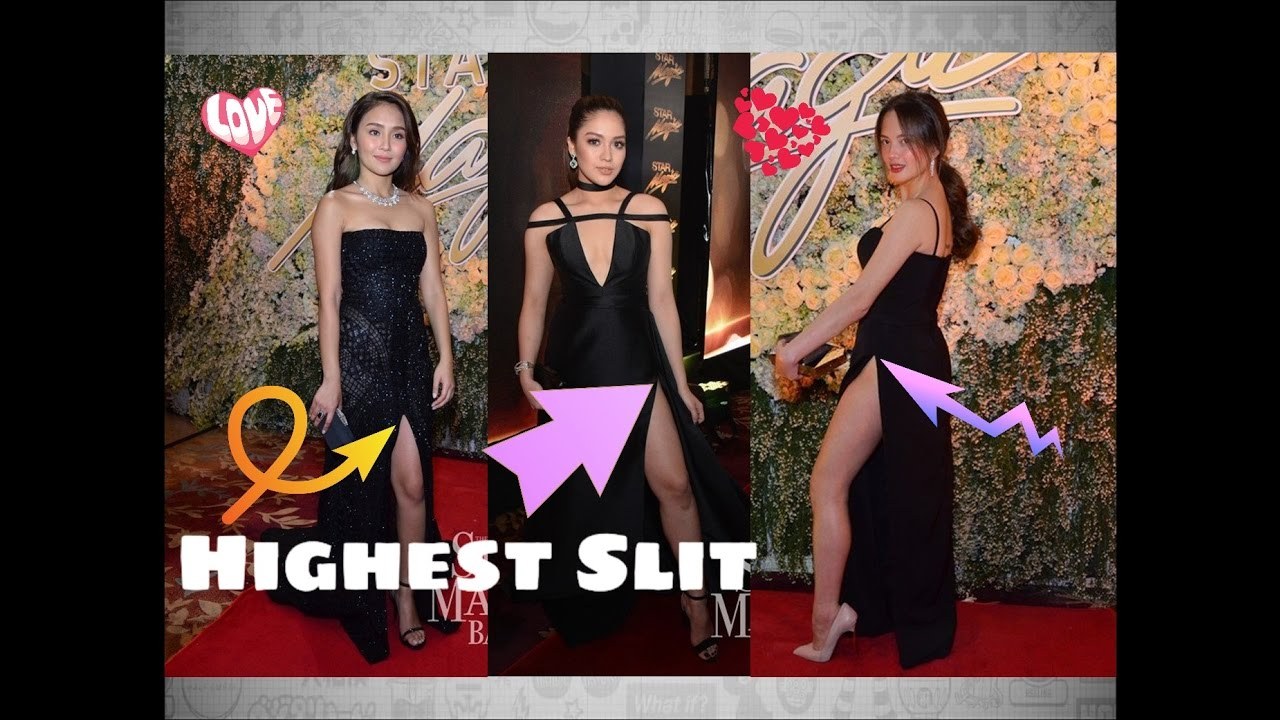 Star Magic Ball 2016 Highest Slit