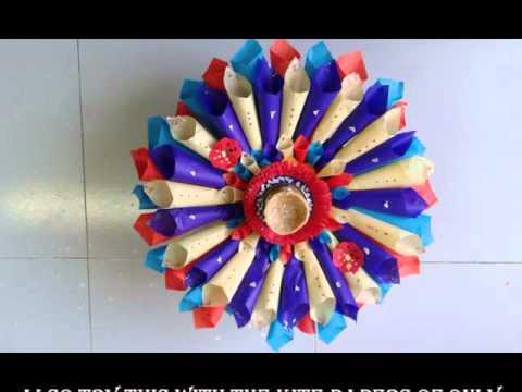 Navratri Special Decorate An Easy Attractive Arti Thali At