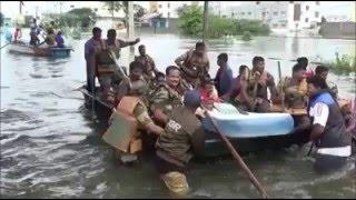 Flooding in Chennai, India - Raw Footage 2