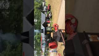 1911 rumely oilpull model b at the 2016 ohio valley antique machinery show