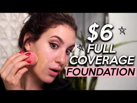 $6 FULL COVERAGE FOUNDATION!? OMG! | Jamie Paige