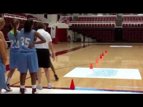 Defensive Drills for Youth Basketball | Zig Zag Practice by Tara VanDerveer