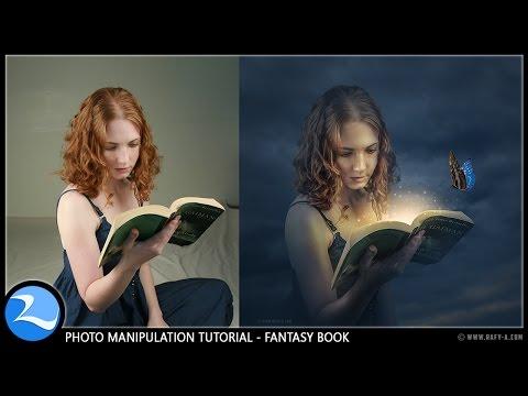 Fantasy Book Manipulation Effects Photoshop Tutorial