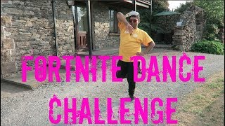 FORTNITE DANCE CHALLENGE - (IN REAL LIFE) FAIL!!!