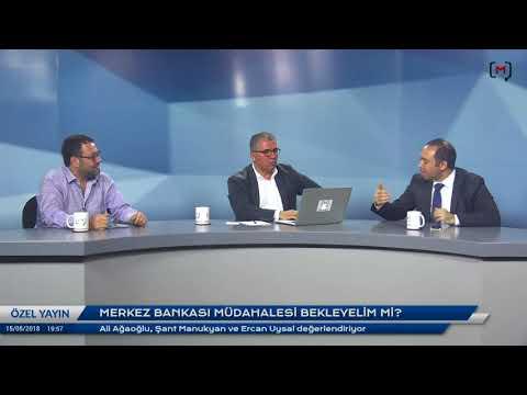 Ekonomi Sohbetleri:Merkez bankası müdahalesi bekleyelim mi?Ali Ağaoğlu, Şant Manukyan ve Ercan Uysal