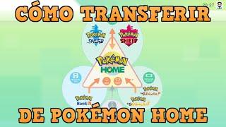 ⚡YA SALIÓ! POKÉMON HOME! - Mira como pasar tus Pokémon fácilmente