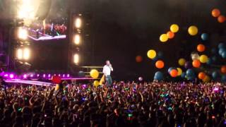 Coldplay - Adventure of a Lifetime Bogota D.C. Colombia 13 abril 2016 (FullHD)