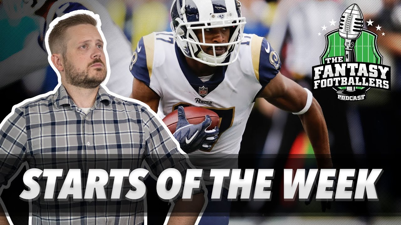 Download Fantasy Football 2018 - Starts of the Week, Wk 6 Matchups, Dad is Back - Ep. #626