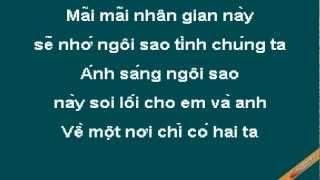 Lua Cho Mot Vi Sao Karaoke - Yen Trang Yen Nhi - CaoCuongPro