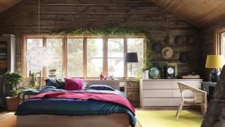 видео Деревянный брус в интерьере - фото кухни и спальни в доме и квартире