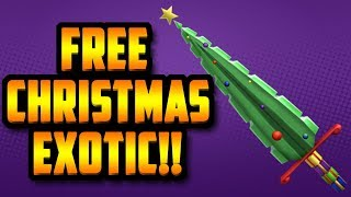 YOU CAN GET A *FREE* HOLIDAY BLADE EXOTIC!! (ROBLOX ASSASSIN)