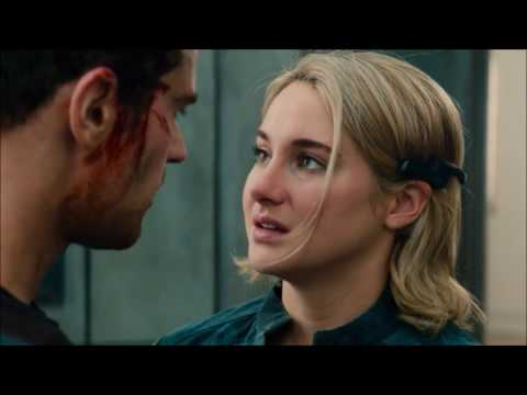Tris and Four love s kisses theo james and shailene woodley