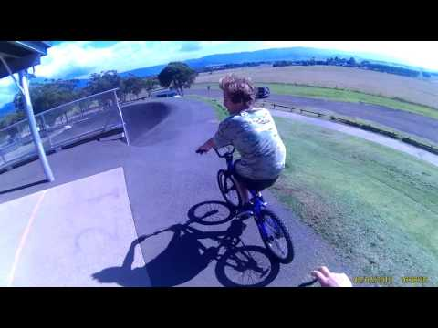 goin for a ride at albion park bmx with some mates (wind warning as usual)